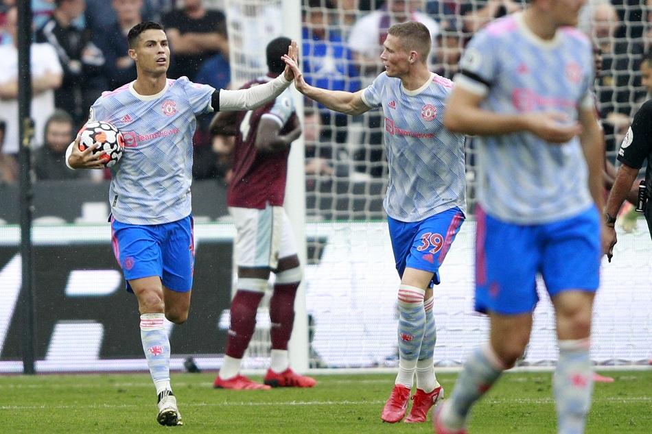 مانشستر يونايتد يتقدم على وست هام بهدف ;لينجارد;