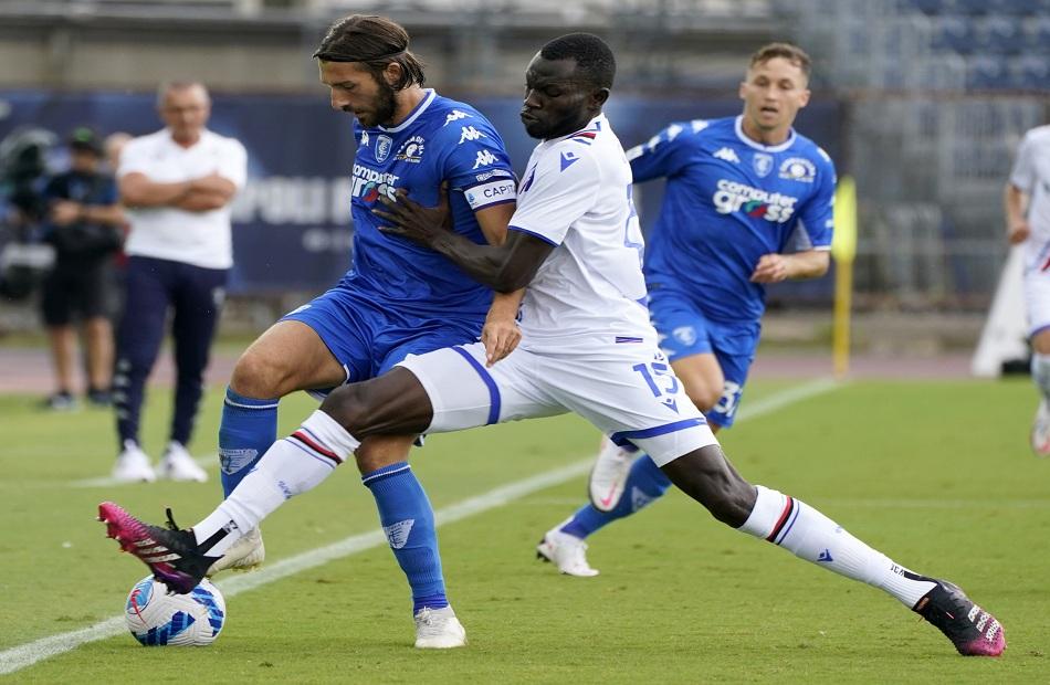 سامبدوريا يفوز على إمبولي في الدوري الإيطالي