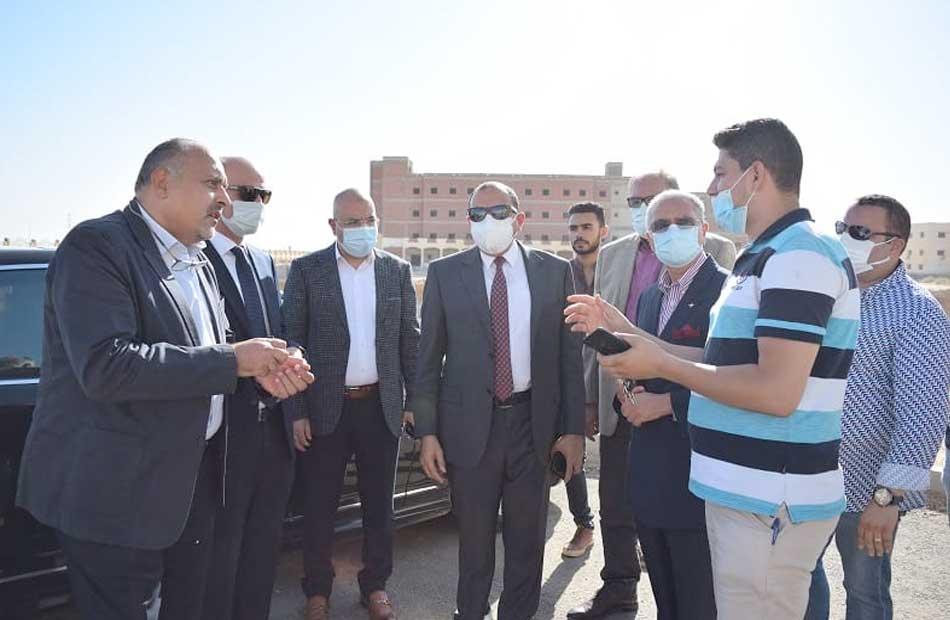 بدعم صندوق تحيا مصر إنشاء معمل مهارات لخدمة القطاع الطبى بجامعة بنى سويف   صور