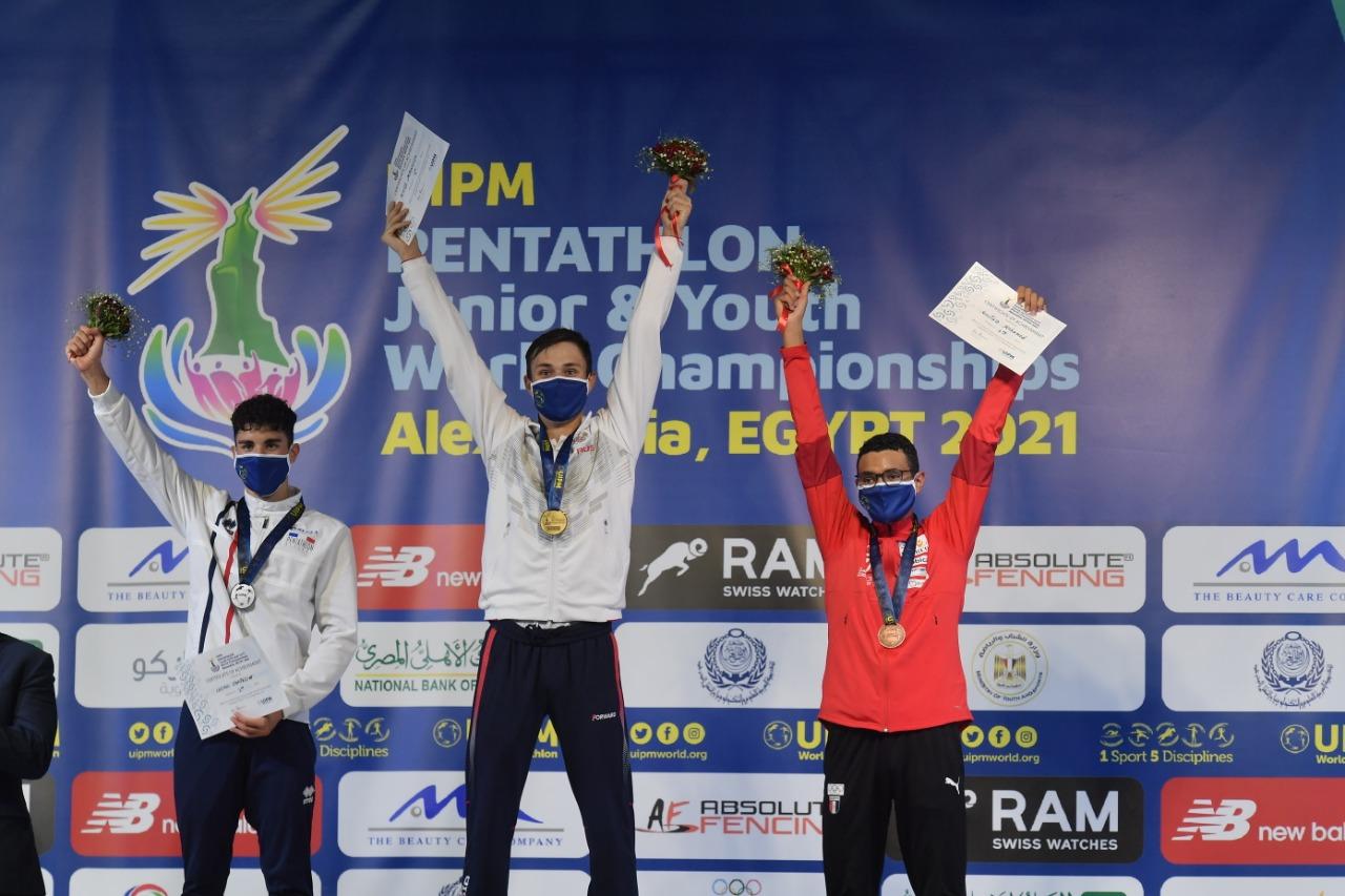 مصر تحصد فضية الفرق وبرونزية الفردي في منافسات الشباب ببطولة العالم للخماسي الحديث