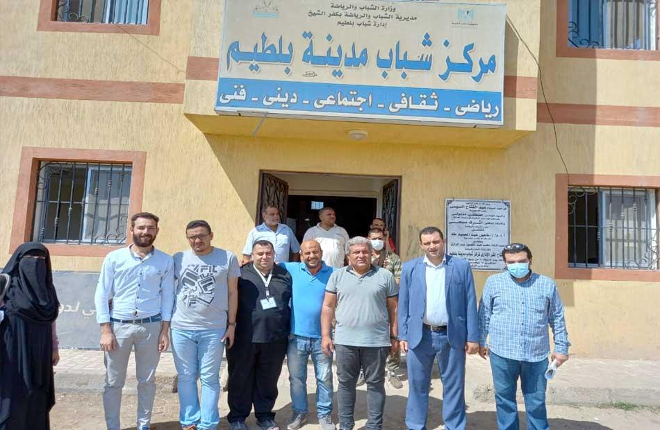 صحة كفر الشيخ بدء إعداد مراكز الشباب لتلقى لقاح فيروس كورونا | صور