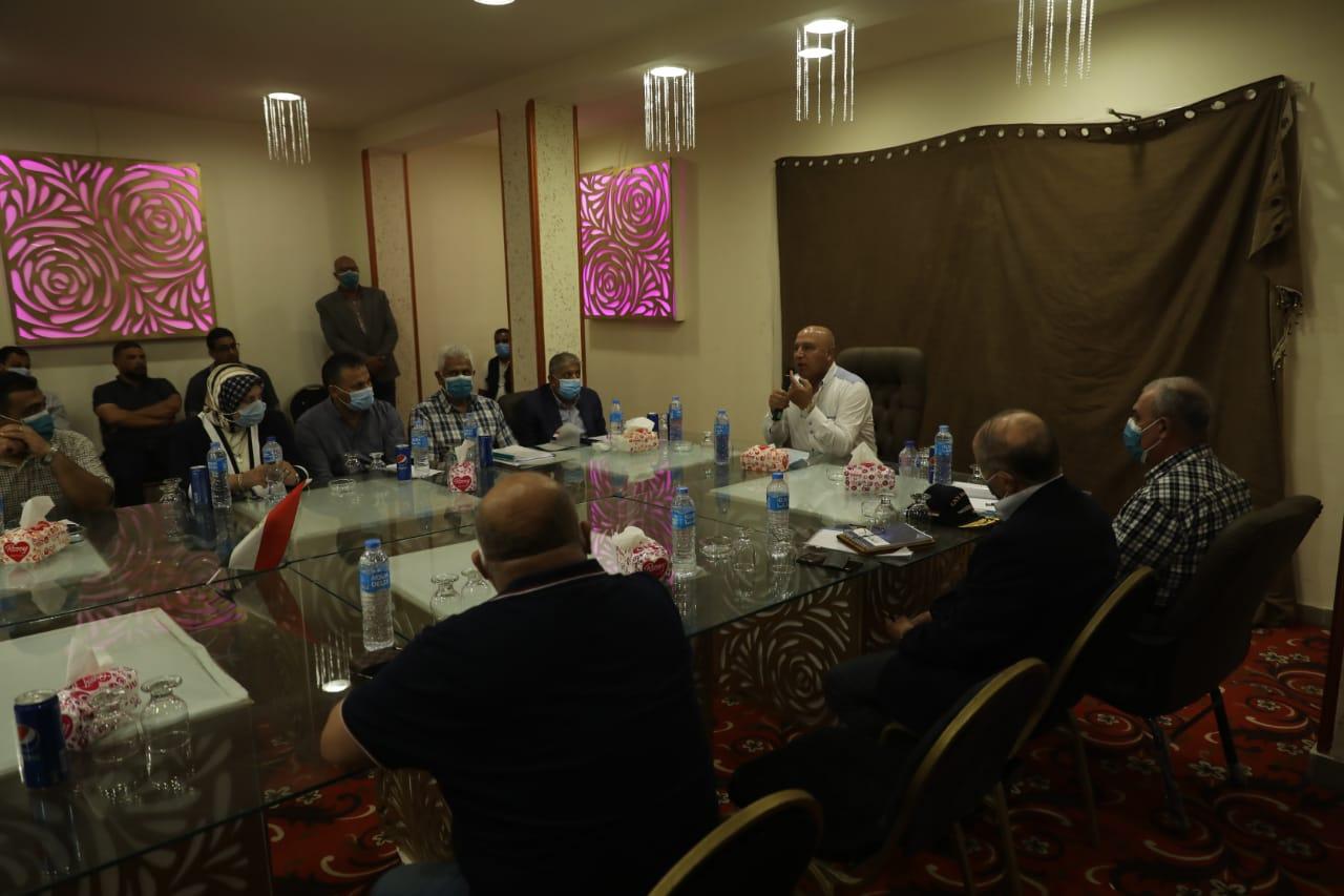 وزير النقل يتابع أعمال الرفع المساحي لموقع ميناء المكس الجديد بالإسكندرية