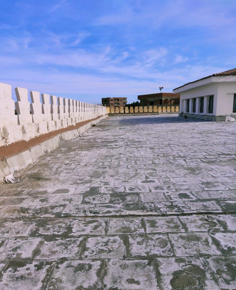 حملة لتنظيف أسطح المساجد استعدادا لموسم الشتاء