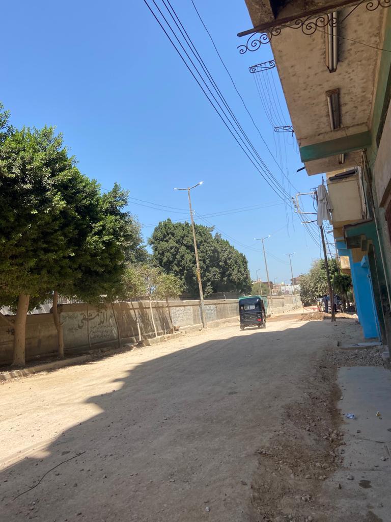 رفع كفاءة الإنارة  في مناطق وشوارع كفر الزيات