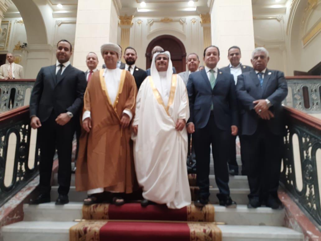 نقل النواب تجتمع بوفد البرلمان العربي