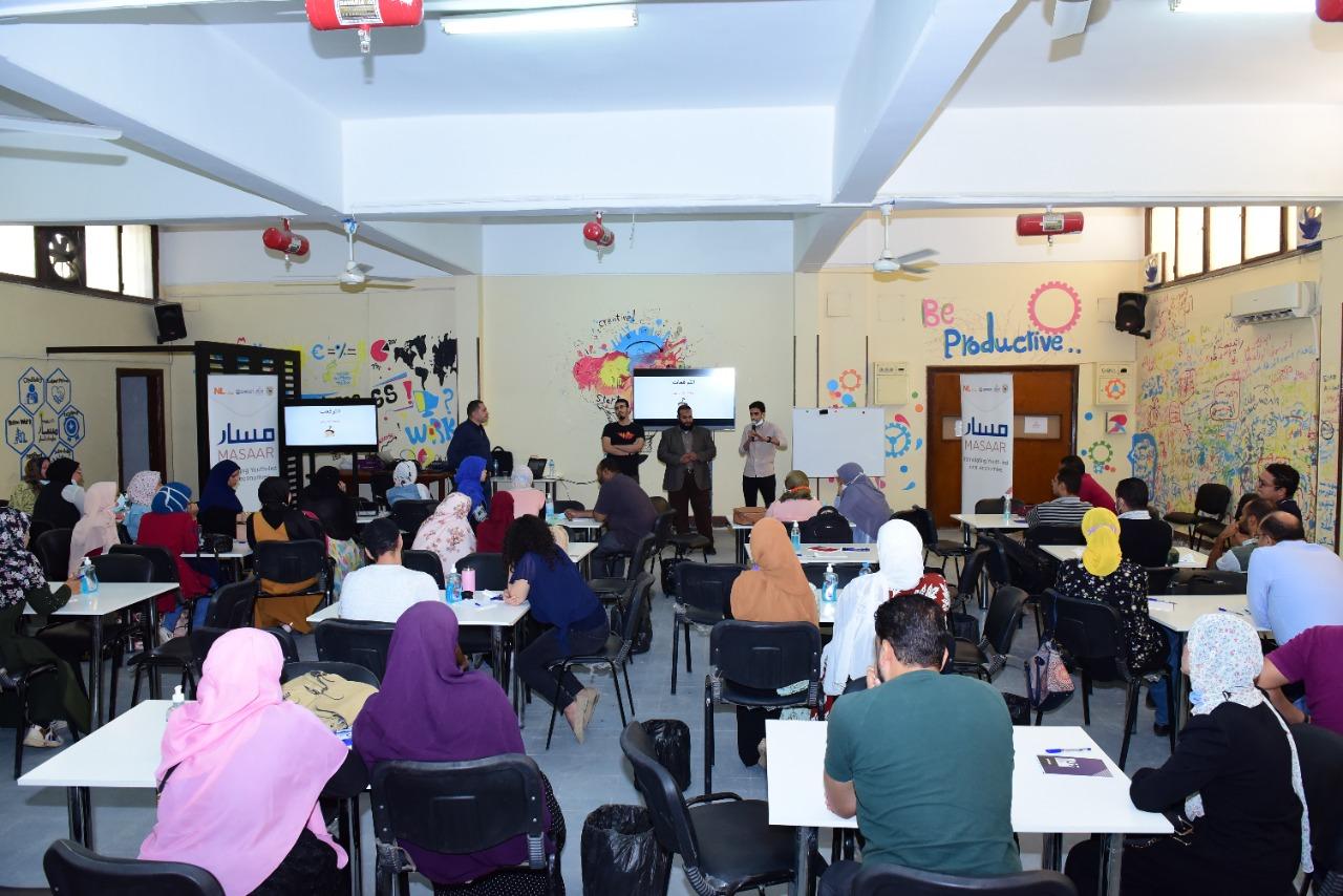 فعاليات المعسكر التدريبي  ابدأ حلمك  بجامعة سوهاج