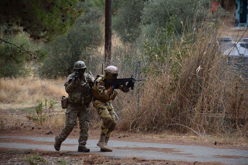 فعاليات التدريب المشترك المصرى القبرصى  بطليموس ٢٠٢١