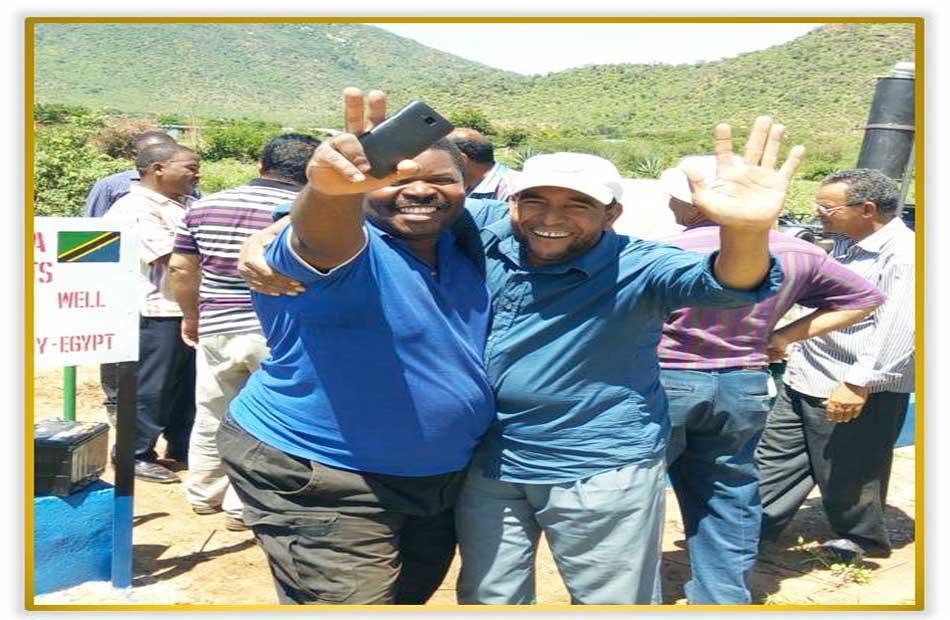 أبار تنزانيا بأيادي مصرية