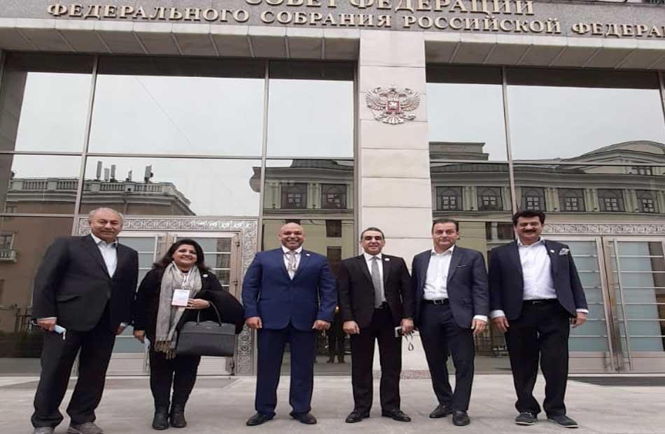 مشاركة وفد مجلس الشيوخ في الإشراف علي الانتخابات البرلمانية الروسية