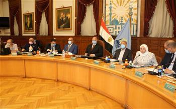 خالد-عبدالعال-يترأس-اجتماع-مجلس-إدارة-مركز-معلومات-شبكات-مرافق-القاهرة صور