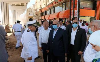 محافظ-القاهرة-يتفقد-إزالة-تعارضات-;محور-جيهان-السادات;- -صور-