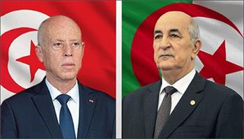 قيس-سعيد-يعزي-الرئيس-الجزائري-في-وفاة-;بوتفليقة;
