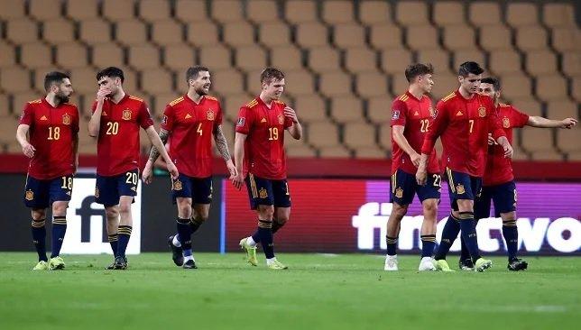 التشكيل المتوقع لمنتخب إسبانيا أمام السويد