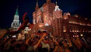 حزب روسيا الموحدة الحاكم يحتفل بفوزه بالانتخابات البرلمانية