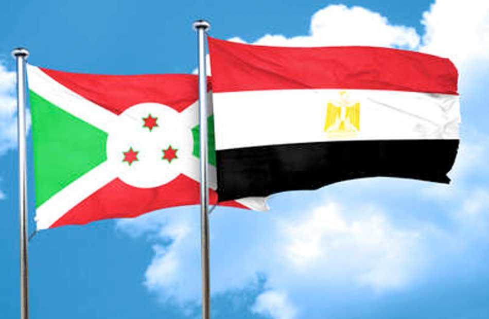 العلاقات بين مصر وبوروندى ممتدة منذ  عقود والدور المصري تاريخي