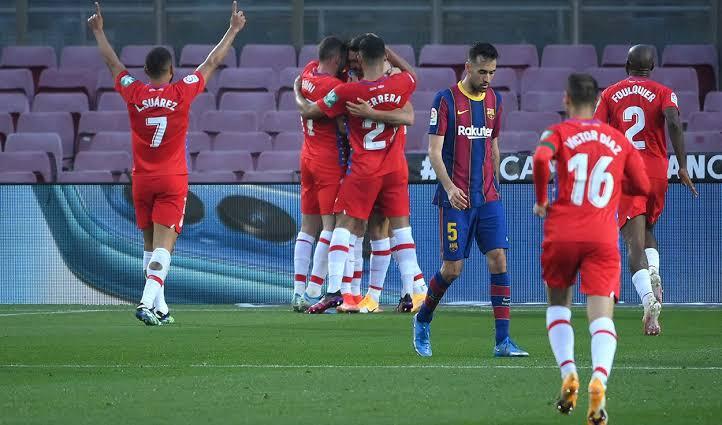 برشلونة في مواجهة غرناطة بالدوري الإسباني الليلة