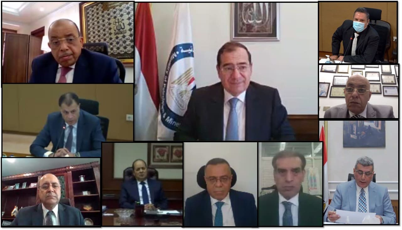 وزير البترول الاستمرار في رفع كفاءة المشروعات لزيادة الطاقة وتحسين الإنتاجية