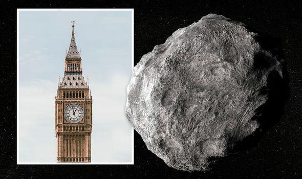 ناسا تحذر كويكب بحجم ساعة ;بيج بن; يتجه بسرعة جنونية للأرض