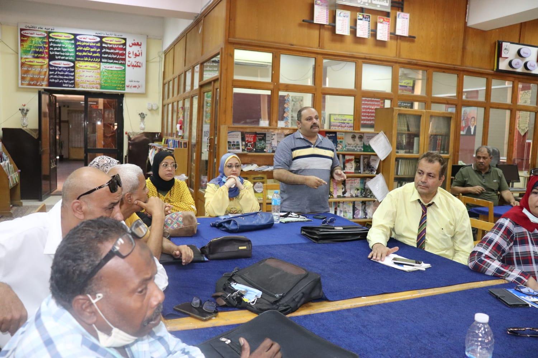 ;تعليم القاهرة; تواصل الاستعداد للعام الدراسي الجديد | صور