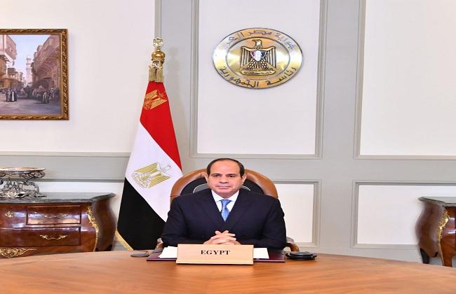 الرئيس السيسي يشارك في اجتماع  رؤساء الدول والحكومات حول المناخ
