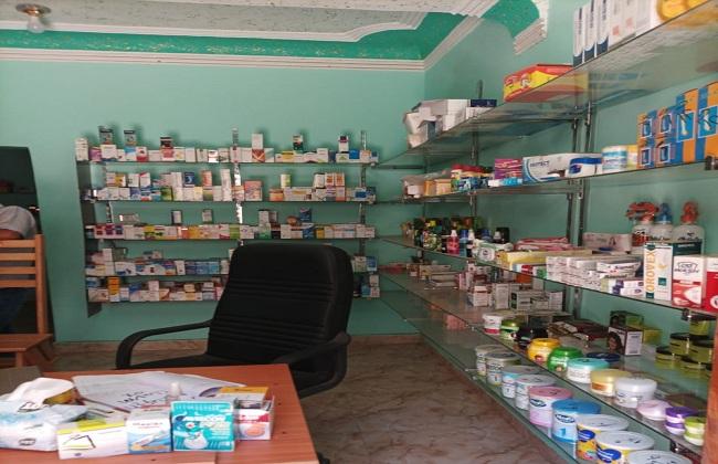 ضبط  عبوة دوائية داخل محل في بني سويف   صور