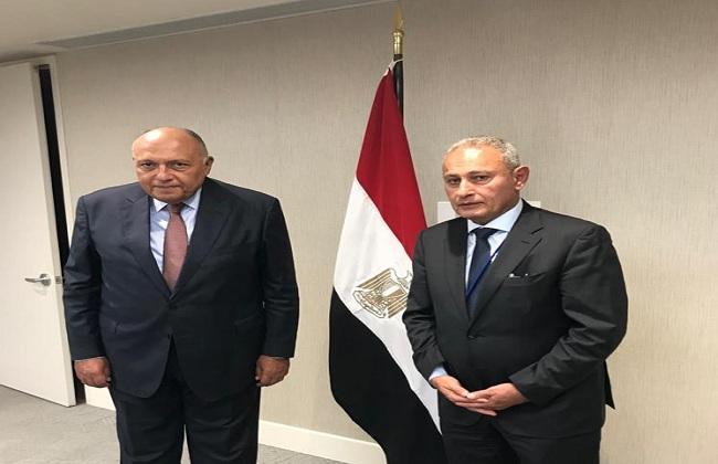 شكرى يعرب عن تقدير مصر لدور الاتحاد من أجل المتوسط