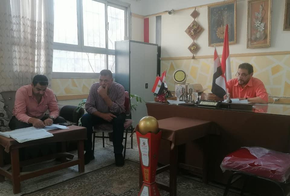 لجنة للمرور على مدارس مركز شربين