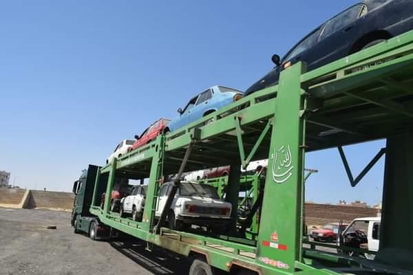 استمرار الأعمال بساحة تخريد السيارات القديمة بالغردقة