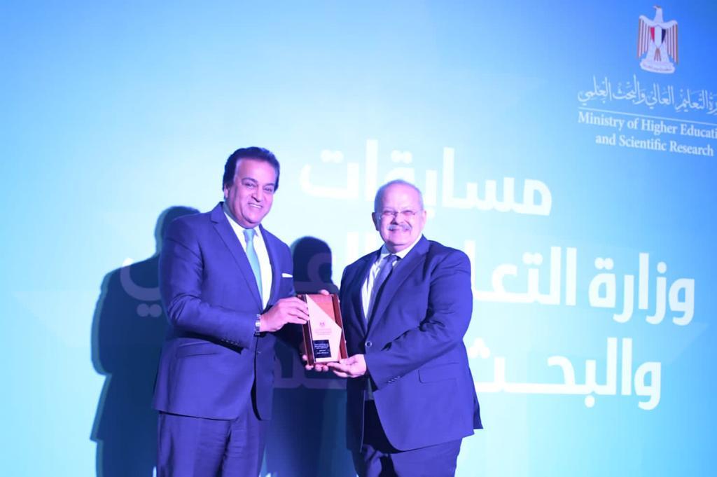 فوز جامعة القاهرة بالمسابقات