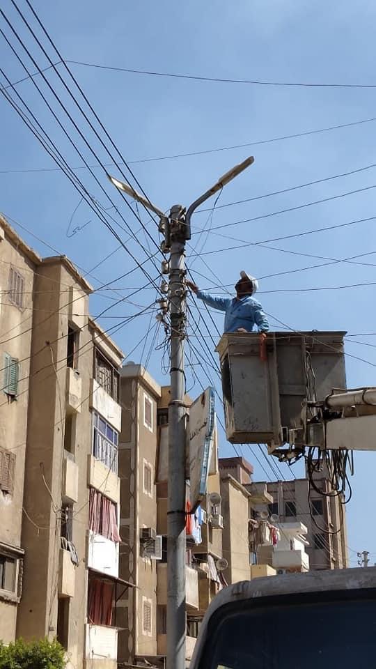 تطوير شبكات توزيع الكهرباء