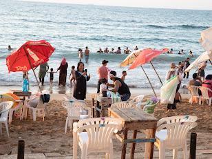 تنظيف شواطئ الإسكندرية