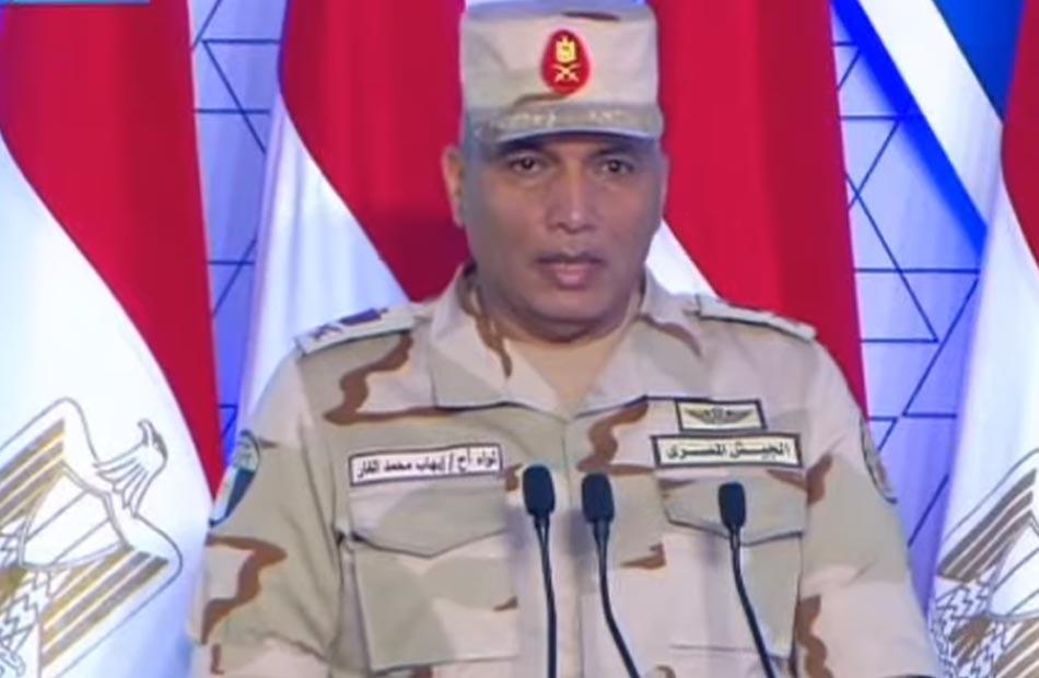 الهيئة الهندسية للقوات المسلحة تنمية سيناء على رأس أولويات القيادة السياسية