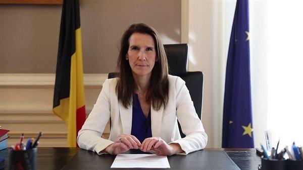 وزيرة الخارجية البلجيكية  شخصًا لا زالوا عالقين في أفغانستان