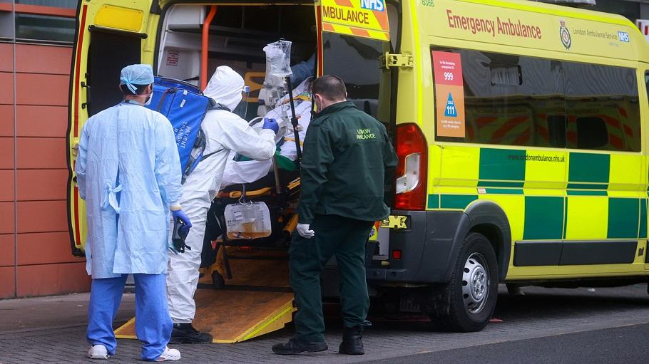 بريطانيا تسجل  ألفا و إصابة بفيروس كورونا خلال  ساعة