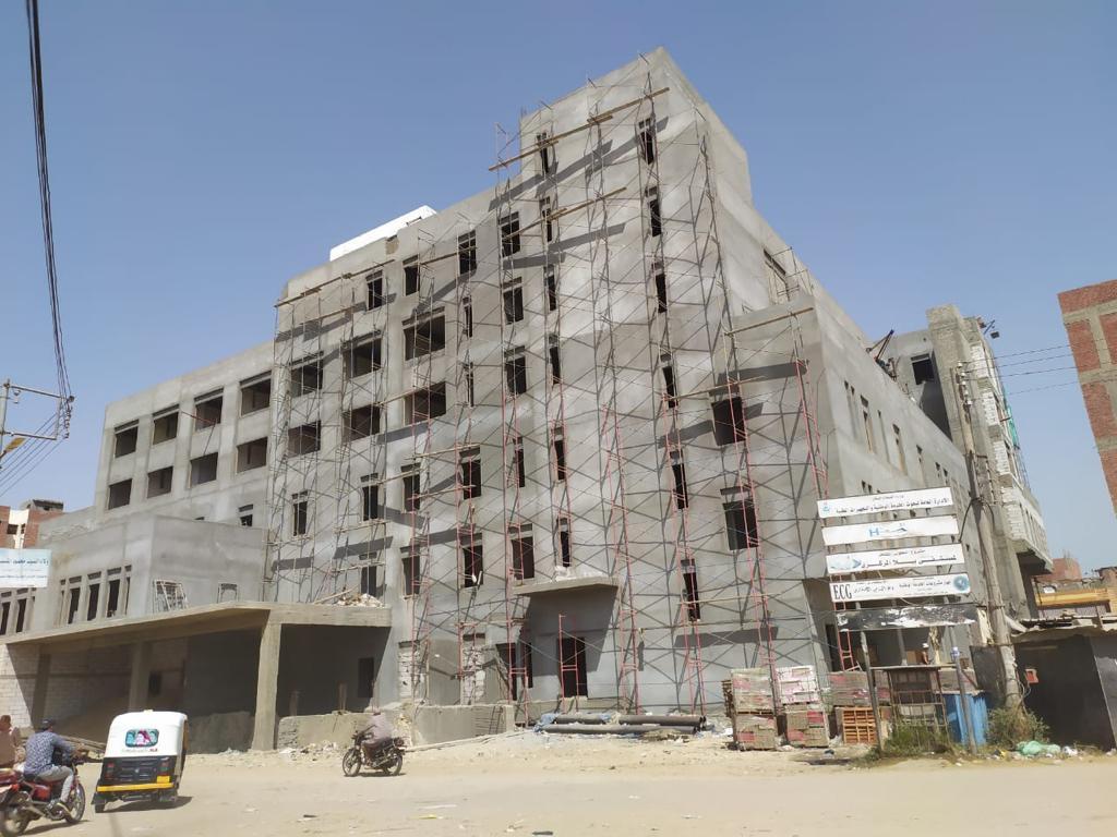 انتهاء تنفيذ ٪ من الأعمال الإنشائية لمستشفى بيلا المركزي صور