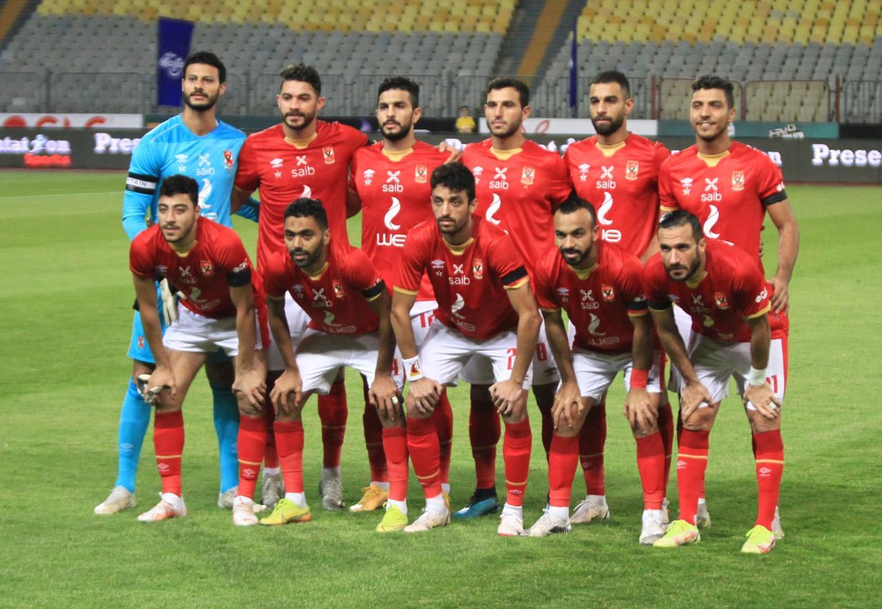 ;شريف; يقود هجوم الأهلي أمام إنبي في كأس مصر