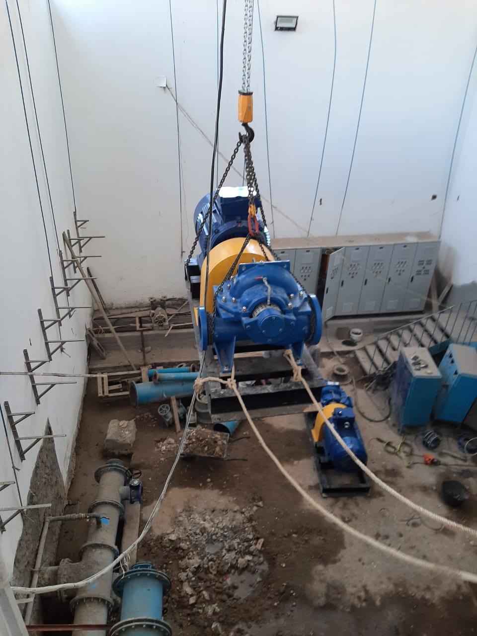 محطة مياه جرجا