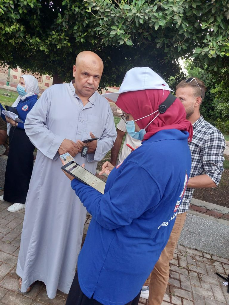 تسجيل المواطنين لتلقى لقاح كورونا