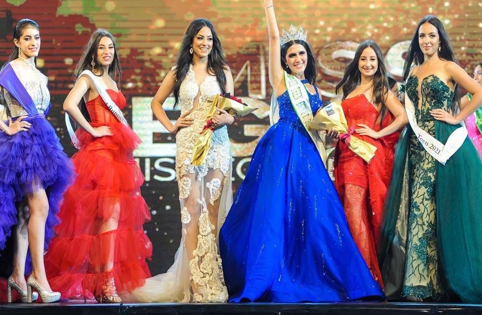 نادين الجيار ملكة جمال مصر فى الإحتفالية