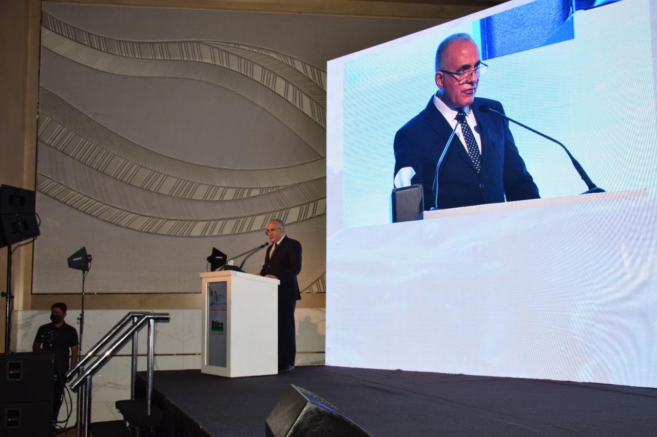 جانب من كلمة الدكتور محمد عبدالعاطي، وزير الموارد المائية والري
