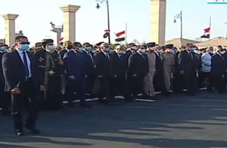تشييع جثمان المشير طنطاوي بجنازة عسكرية