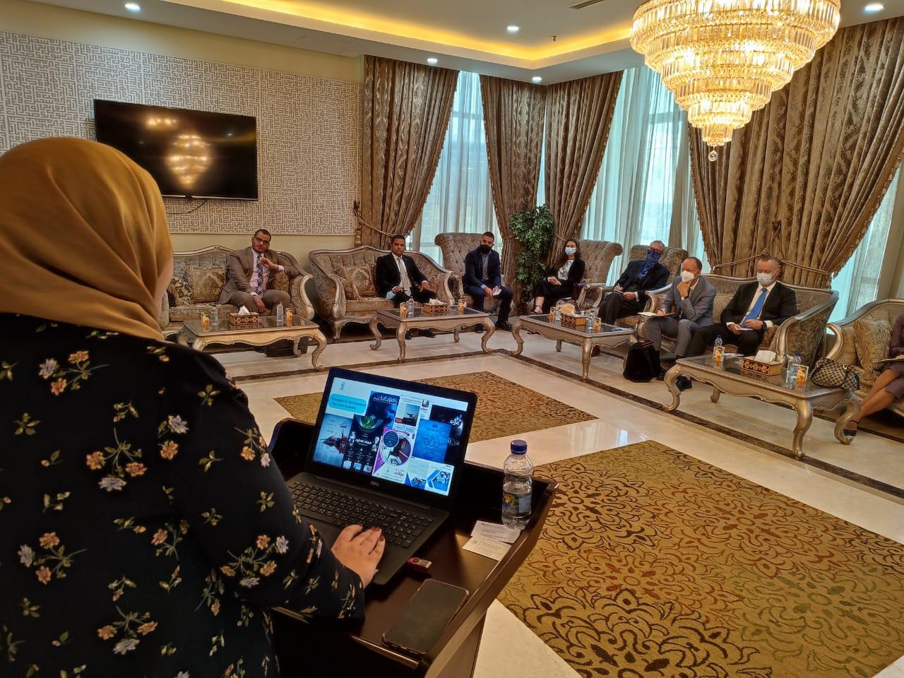 مرصد الأزهر يستقبل وفدًا من ممثلي سفارات الاتحاد الأوروبي