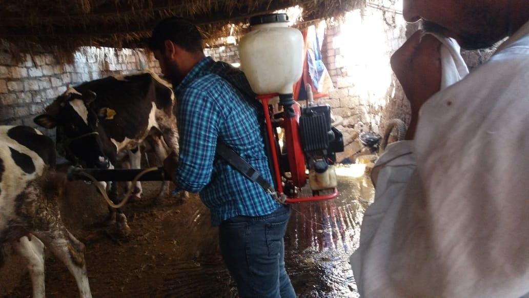 قافلة سكانية بقرية سنهور فى البحيرة
