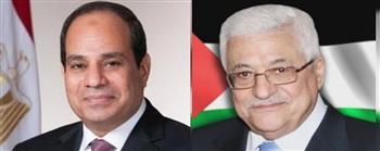 الرئيس-الفلسطيني-يعزي-الرئيس-السيسي-في-وفاة-المشير-طنطاوي