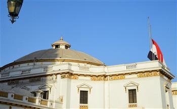 مجلس-النواب-ينكس-العلم-حدادًا-على-وفاة-المشير-طنطاوي-|صور