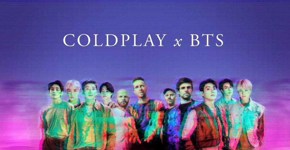 كولدبلاي وفريق ;بي تي إس; يعلنان عن تعاون بأغنية جديدة
