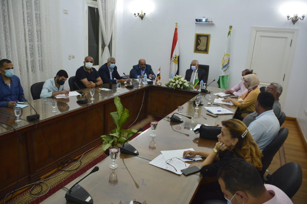 محافظ الجيزة يتابع الموقف التنفيذي لأعمال تطوير وتوسعة شارع مراد  صور
