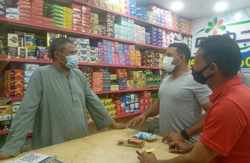 استمرار متابعة تطبيق الإجراءات الاحترازية بمدينة القصير  صور