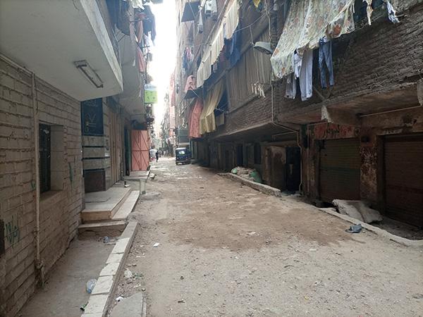 الشارع الذي شهد الواقعة