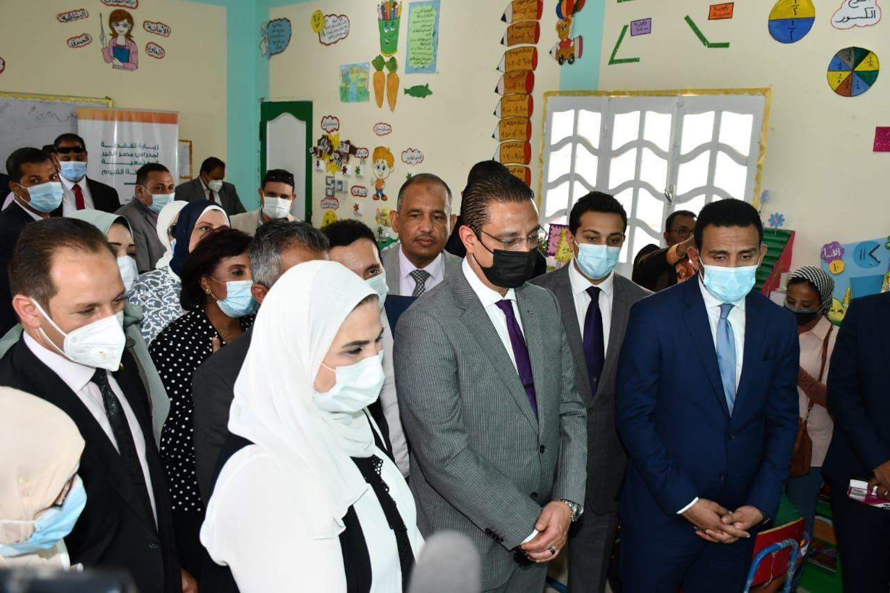 وزيرة التضامن توجه التحية للقيادة السياسية لإرساء مبدأ تكافؤ الفرص التعليمية